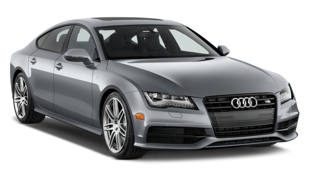 Luxury car rental audi s7 sedan