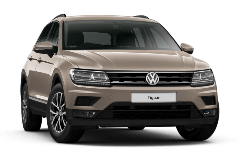 Luxury car rental volkswagen tiguan