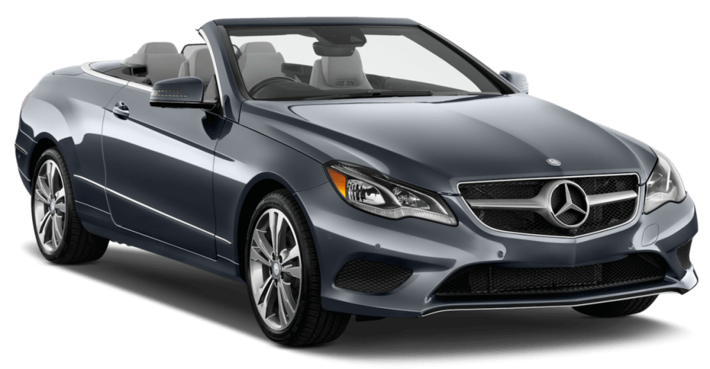 Luxury car rental mercedes benz e class 350 cabriolet