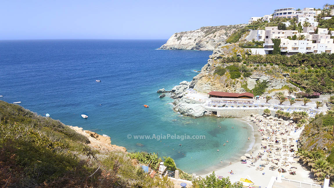 Made (Mades) Bay in Agia Pelagia