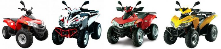 Verhuur van motorfietsen - ATV QUAD fietsen te huur - AGIA PELAGIA CRETE