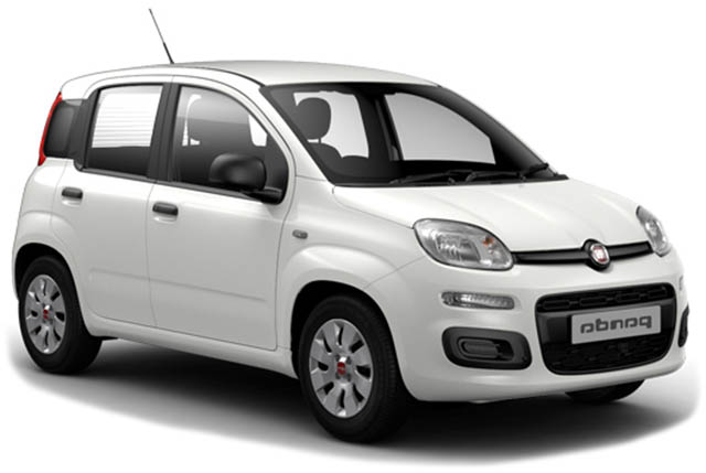 RENTAL CARS in Agia Pelagia Crete - Fiat Panda car rental