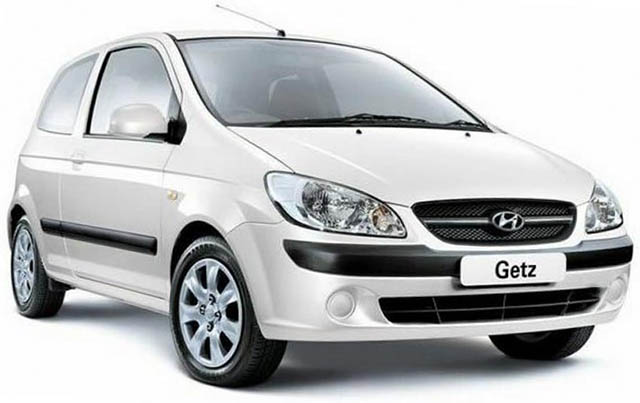CAR RENTAL in Agia Pelagia Crete - Hyundai Getz cars for rent