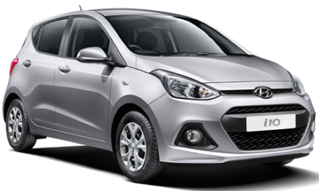RENT A CAR in Agia Pelagia Crete - hyundai i10 car for rent