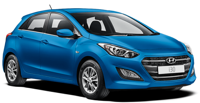 RENT A CAR in Agia Pelagia Crete - hyundai i30 car for rent