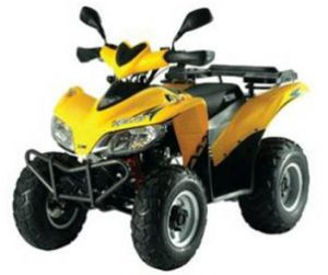 ATV Quad Motor Bike for rent - SYM QUAD 200cc - 250cc