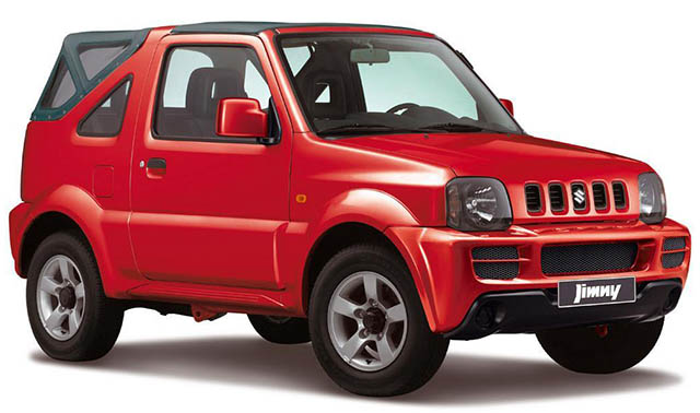 CAR RENTAL in Agia Pelagia Crete - SUZUKI Jimny Jeep 4x4 cars for rent